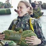 1º Tenente Forster – Médica e Paraquedista do Exército
