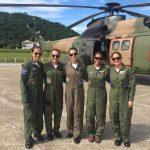 Tripulação feminina é destaque no Esquadrão Puma