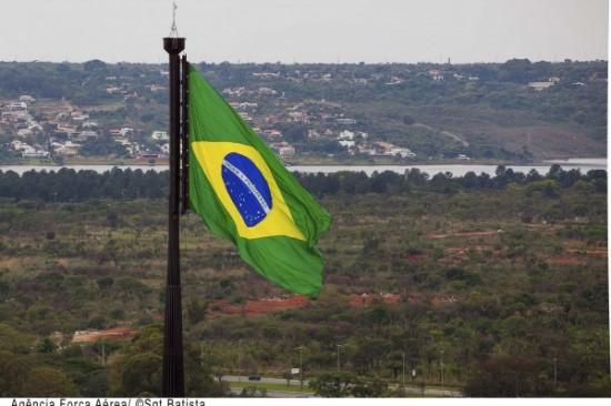 Troca da bandeira FAB