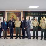 DEC recebeu a visita do Chefe do Corpo de Engenheiros do US Army