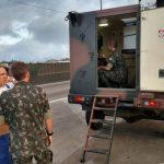 1º Batalhão de Defesa Química, Bilógica, Radiológica e Nuclear apoia combate a incêndio em Santos