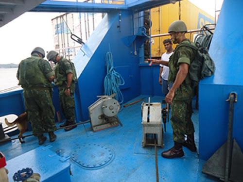 Ação foi desencadeada com a Equipe Faro do Batalhão de Operações Ribeirinhas