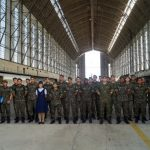 Visita dos alunos do Curso de Artilharia Antiaérea a Base Aérea de Santa Cruz (BASC)