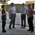 Visita da comitiva do Exército Português a Ba Ap Log Ex e ao H Cmp