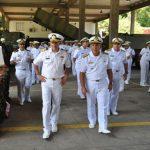 Comandante da Marinha de Israel visita unidades de Fuzileiros Navais da Marinha do Brasil