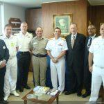 Visita da Comitiva da Organização de Defesa e Segurança do Reino Unido a DAerM