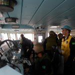 Exercício avançado de Operações de Paz no Navio-Patrulha Oceânico Apa