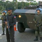 Exército realiza treinamento em ruas do Rio de Janeiro das tropas que irão para o Haiti