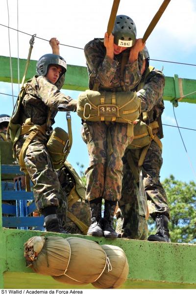 Salto de paraquedas cadetes da AFA.4