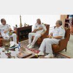 Comandante da Marinha de Israel visita a Marinha do Brasil