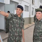 General Mayer Chefe do DCT, despede-se do Centro de Instrução de Blindados