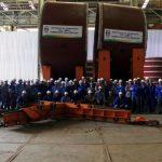 NUCLEP entrega mais duas seções do SBR-1 à Itaguaí Construções Navais