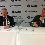 Embraer e Saab estabelecem parceria para a gestão conjunta do Projeto F-X2 no Brasil