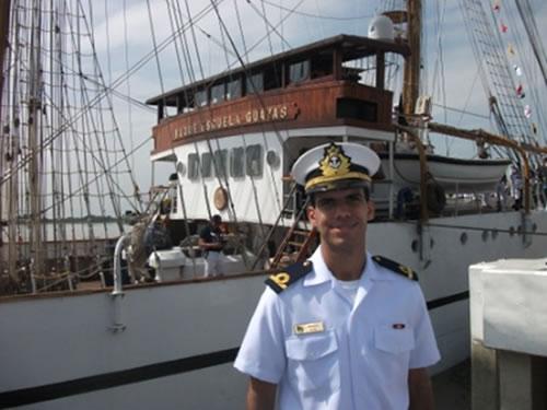 2° Tenente Victor Teles Pimenta participa da primeira fase de uma Viagem de volta ao mundo