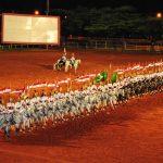 Dragões da Independência fazem homenagem as mães no dia da Cavalaria