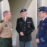 COTER recebe visita do comandante do EUROCORPS