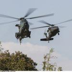 Esquadrões de asas rotativas da FAB participam de exercícios na Serra do Cachimbo
