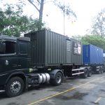 Base de Apoio Logístico realizou o transporte de suprimentos para o eixo norte