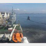 """Aeronave """"H145"""" é demonstrada para a Marinha do Brasil"""