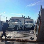Ba Ap Log Ex em apoio ao contingente Brasileiro da Força de Paz no Haiti