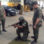 Cia C da Base de Apoio Logístico ministrou instrução preparatória para o tiro