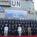 Comando da FTM-UNIFIL condecora contingentes da Indonésia e de Bangladesh