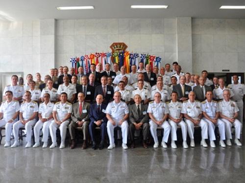 Militares que participaram do evento, no Rio de Janeiro (RJ)