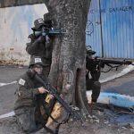 Fuzileiros Navais realizam treinamento de Assalto Ribeirinho em Ladário (MS)