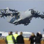 Airbus mantém programa de voos de teste do A400 M após acidente