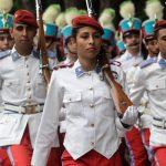 Desfile de alunos e ex-alunos marca os 126 anos do Colégio Militar do Rio de Janeiro
