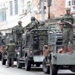 Exército tem confronto da Força de Pacificação contra bandidos no Complexo Maré filmado