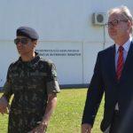 Consul Geral da Alemanha Visita Centro de Instrução de Blindados