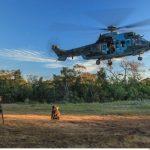 Esquadrão Falcão realiza simulação de resgate durante exercício de CSAR