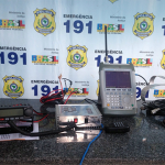 Piauiense com rádio que se conecta à satélite dos EUA, é preso pela PRF
