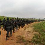 Base de Apoio Logístico do Exército realiza marcha de 8 km