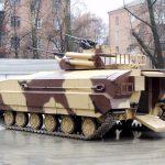BMPV-64, a solução ucraniana de apoio a infantaria