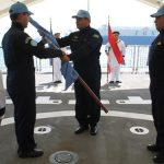 Força-Tarefa Marítima (FTM) da UNIFIL realiza cerimônia de Passagem do Navio Capitânia
