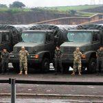 Desembaraço alfandegário de viaturas MBB a Cooperação Militar Brasileira