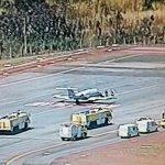 Jato da FAB faz pouso de emergência no Aeroporto de Brasília
