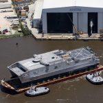 US Navy batiza seu 6º navio de alta velocidade, o USNS Brunswick