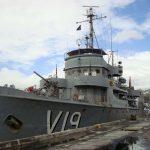 """Corveta """"Caboclo"""" celebra os 150 anos da Batalha Naval do Riachuelo em Ilhéus (BA)"""