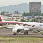 Agora rival da Embraer, empresa Mitsubishi faz o primeiro teste de seu jato regional