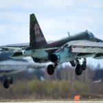 Caças russos Su-25 Frogfoot são colocados em estado de alerta