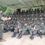 Acampamento da Fase de Instrução Individual Básica do Centro de Instrução Paraquedista