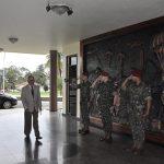 "Visita do Águia ""Uno16"" à Brigada de Infantaria Paraquedista"