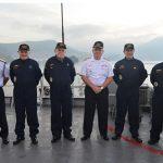 """Comandante da Marinha embarca no Navio-Patrulha Oceânico """"Amazonas"""""""
