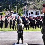Visita do Comandante Militar do Leste à Brigada de Infantaria Paraquedista