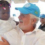 Jaques Wagner conhece ações sociais das Forças Armadas no Haiti