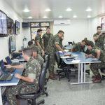 Brigada de Infantaria Paraquedista atua com seu Centro de Controle de Operações