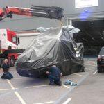 Grupo de Fiscalização e Recebimento recebe 1ª aeronave Lynx que será modernizada